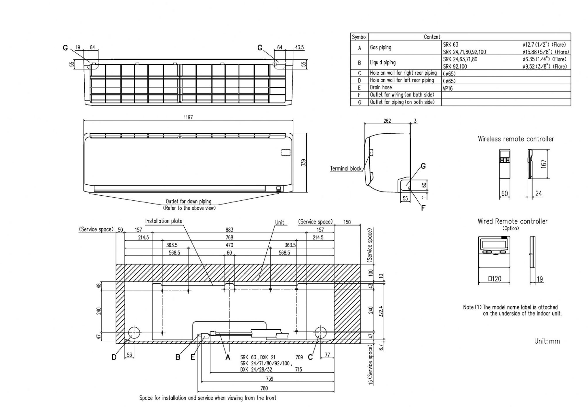 hight resolution of mitsubishi heavy industries air conditioning srk63zr s wall mounted 6 3kw 21000 btu